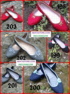 sepatu rajut 199-203