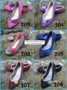 sepatu rajut 204-209