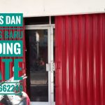 Service pintu besi folding gate Pandeyan Umbulharjo Yogyakarta